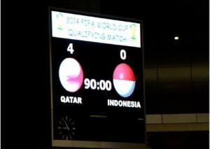 Qatar score 4:0