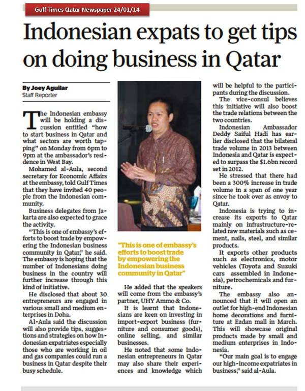 How To Do Business in Qatar   Risman © Member of Qatar