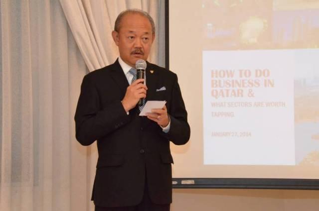 Saiful Hadi Ambassador RI Doha